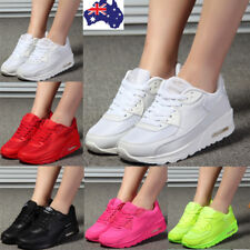 Women Girl Breatheable Sneakers Walking Athletic Trainers Running Sport Shoes