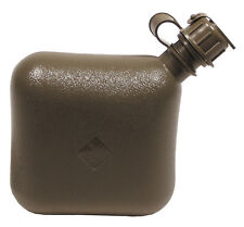 Genuine US Army Issue Collapsible 2 Qt (2 Litre) Water Bottle / Carrier - Used