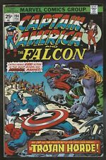Captain America 194 FN+ 6.5 Uncertified Marvel 1976 FREE SHIP