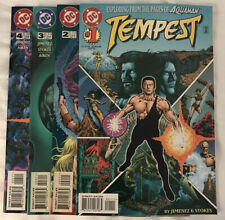 Tempest #1 - 4 Dc Comics by Jimenez Stokes (Exploding from the pages of Aquaman)
