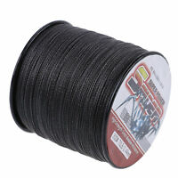 BLACK Super Power Braided Fishing Line 300M/1000M 500M/100M 6LB-300LB Spider