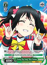 """Weiss Schwarz Love Live! x 4 """"Sunny Day Song"""" Nico Yazawa [LL/EN-W02-E049 C] Eng"""
