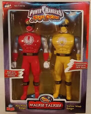 Power Rangers Ninja Storm - Red & Yellow Wind Figure Walkie Talkies Pack (MISB)