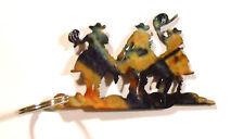 Lazart Metal Art Cowboy, Horse Roundup Keychain Country Decoration USA Unique 4