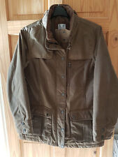 CREW CLOTHING Ladies Highland Wax Coat Jacket - Size 14