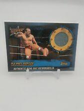 Topps WWE Slam Attax 10th Edition RMAC Daniel Bryan Ring Mat Relic RARE