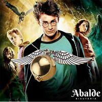 Collar Colgante Hombre Mujer Harry Potter Alas de Angel Reliquias De La Muerte