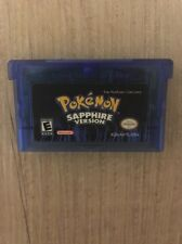 NEW Pokemon Sapphire For GBA Game Boy Advance