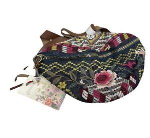 NWT Johnny Was Workshop Celeste Belt Bag - OL43710621 Fanny Pack Embroidered