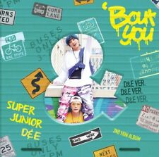 SUPER JUNIOR D&E 2nd Mini Album [Bout You] D&E Ver. CD + Photobook + Photocard