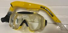 New listing Us Divers Snorkle & Eagle Ray Diving Mask - Tempered