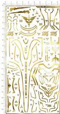 Metal Sticker Detail Up 1/100 MG MG MSN-06S SINANJU Gundam Model Kit Gold 2366