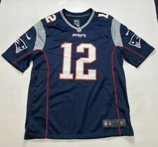 New England Patriots Nike Mens NFL Game Jersey - Large - BRADY 12