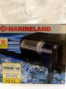 Marineland Penguin 150B Bio Wheel Power Filter 150 GPH 20 to 30-Gallon Tank,USED