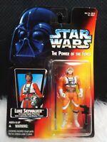 Star Wars Power of the Force Red Card Luke Skywalker X-Wing Fighter Pilot Gear