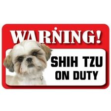 Shih Tzu Dog Pet Sign, Fun Signs, Housewarming Gifts, Collectables DS071