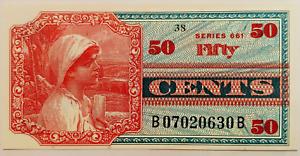 1968 MPC UNITED STATES 50 CENTS SERIES 661 GEM UNC FRESH MINT !  -  P481