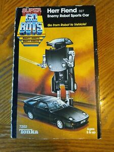 Super Go Bots Herr Fiend 027 Enemy Robot Sports Car in box