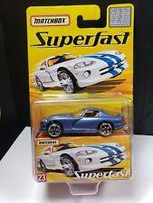 2005 MATCHBOX SUPERFAST DODGE VIPER GTS LIMITED TO 8000 - A9