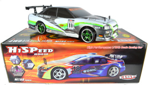 R/C style SKYLINE Rechargeable Radio Remote Control Toy Car 20KPH 1:10 Scale