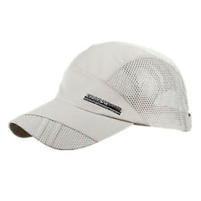 Men Outdoor Quick-drying Visor Caps Sport Cool  Summer Running Baseball Mesh Hat
