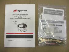 Ingersoll Rand Dx 700e Parts Operation Maintenance Manual Kubota Engine Roller