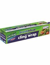 Castaway Stretch N Seal Cling Wrap Large 600m X 45cm Single Roll