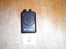 Motorola Minitor V (5) 2-Channel Stored Voice VHF Pager 151-159 MHZ NO.2