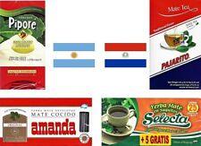 Yerba Mate Tea Tasting Pack - Pipore, Amanda, Pajarito & Selecta - 105 tea bags