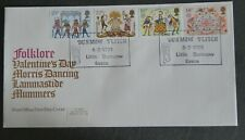 GB 1981 Folklore FDC  The Dunmow Flitch, Little Dunmow shs