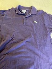 lacoste size 5 Mens Polo Shirt