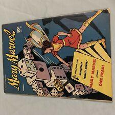 New ListingMary Marvel #21 Golden Age Pre Code Robot Dice Cover Captain Marvel Shazem 1948