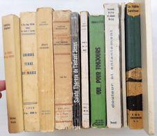 Lot de 12 livres dont 10 sur la religion catholique sauf missels 1945-1969
