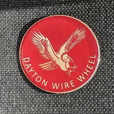 Red Eagle Dayton Zenith Wire Wheel Chips Emblems Decals Set Of 4 Size 238in