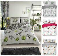 Luxurious DINOSAUR Animal Modern Style Duvet Cover Sets Reversible Bedding Sets
