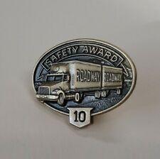 Roadway 10 Year Safety Award Pin