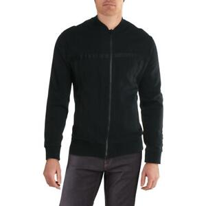 Sean John Mens Black Logo Lightweight Casual Jacket Coat L BHFO 3660