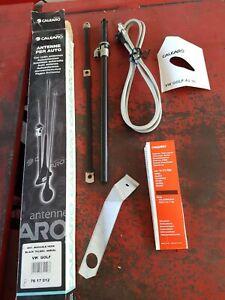 Antenna manuale Per Vw Golf A3 dal 7/91- Nera 6121795 Black calearo