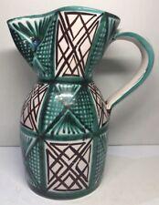 selten großartige Vase Krug unterzeichnet DAG Stil Picault Vallauris Vintage H
