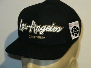 LOS ANGELES LAKERS MITCHELL & NESS SNAPBACK HAT CAP 2018 EXCELLENT CONDITION