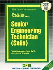 NEW Senior Engineering Technician (Soils) Test Practice Passbook NYS Exam