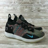Nike Zoom KD 11 Youth Size 5.5Y Multicolor Athletic Training Basketball Sneakers