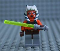 LEGO Star Wars™ Minifigure Ahsoka Figures Lightsaber 2008 From Set 7675