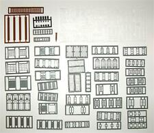 Tichy N Scale Architectural Details 164 pieces #2540 Bob The Train Guy