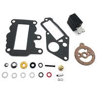 Carburetor Repair/Rebuild Kit for Johnson Evinrude Carb 382048 9.5 hp 1964-1973