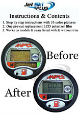 SeaDoo LCD Info Gauge Center Display Repair Kit 3-4 Seater Models Listed Only