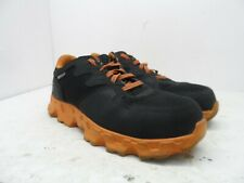 Timberland PRO Men's Powertrain Alloy-Toe Work Shoe 92660 Black/Orange Size 9W