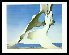 Georgia O KEEFFE Pelvis With The Distance Poster Art pression dans le cadre 56x71cm