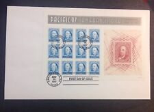 US 1997 FDC & 2 Full Souvenir Sheets Pacific 97 Expo Franklin and Washington! |