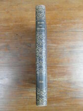 Reliure LE MAGASIN DES DEMOISELLES ANNEE 1845